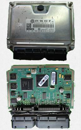 Unidades de control electronicas automotrices